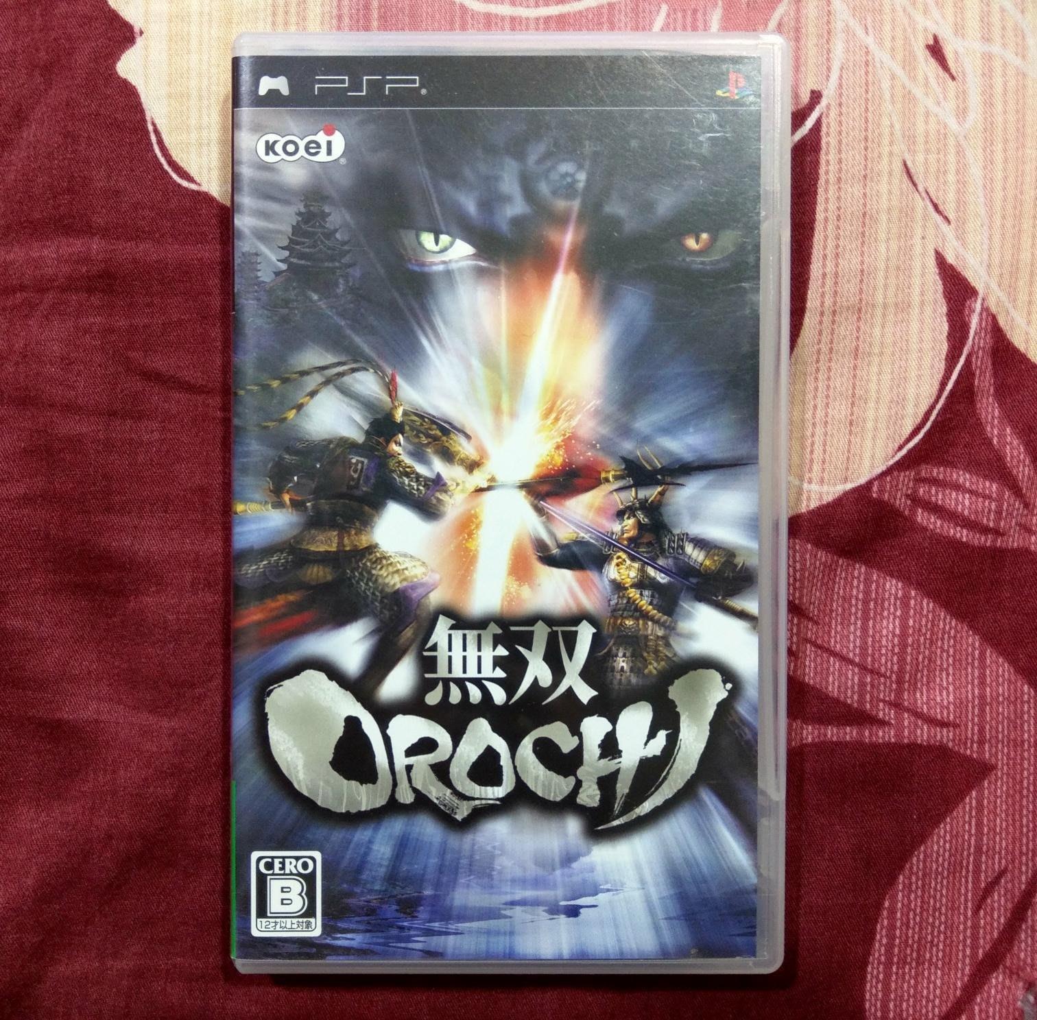 PSP 無雙Orochi  蛇魔 純日版(編號346)
