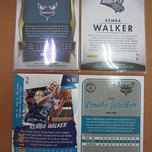 網拍讀賣~Kemba Walker~黃蜂隊球星~華克~藍亮限量卡/299~RC新人卡~亮卡~閃卡~普特卡~共4張~