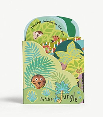 (預購)Jellycat 童書 In The Jungle fold out book