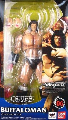 日本正版 萬代 S.H.Figuarts SHF 金肉人 筋肉人 水牛人 可動 模型 公仔 日本代購
