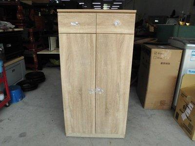 全新品 2x4尺橡木色鞋櫃&二手家具台中權威 儲物櫃 玄關櫃 收納櫃