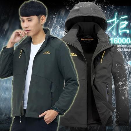 ※現貨【加大碼】戶外休閒彈力輕便風衣夾克/外套 3色 L-8XL碼【CP16031】