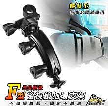 破盤王/台南 惠普 HP F200/大通 DV-2000  專用【特殊加長 後視鏡支架-螺絲型】F01