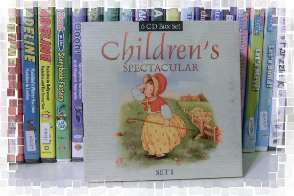 *【兒童英語童謠CD】 小pen* 精選6 CD兒童音樂, 童謠, 故事, 韻文