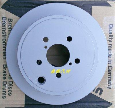 盛揚 OZimmermann 德國原裝OZ超高硬度碟盤 SUBARU IMPREZA 08- (後盤286x10mm)