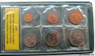 生活品質館 6枚 精致~爱尔兰1971年 收藏 纪念 送礼