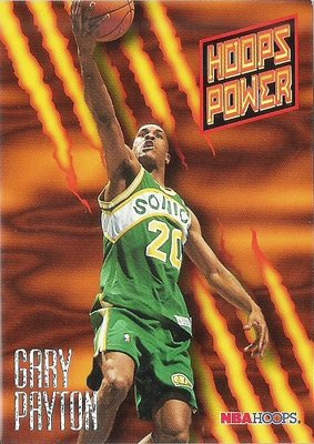 GARY PAYTON 1994-95 HOOPS HOOPS POWER PR-50 特卡