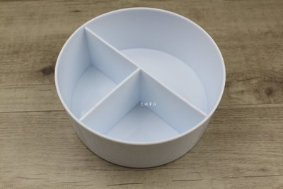 韓非子小舖~  台灣製 塑膠三格洗筆筒 筆洗