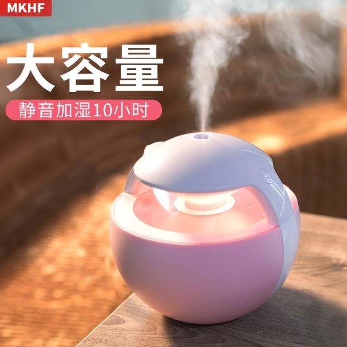 usb加濕器家用靜音臥室孕婦嬰兒補水噴霧便攜小型迷你辦公室空氣