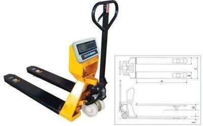 【星龍】GSP油壓叉車秤 - 托板車磅秤 - 電子秤 - 地磅 - 1噸、0.5kg實體店面保固一年免運費