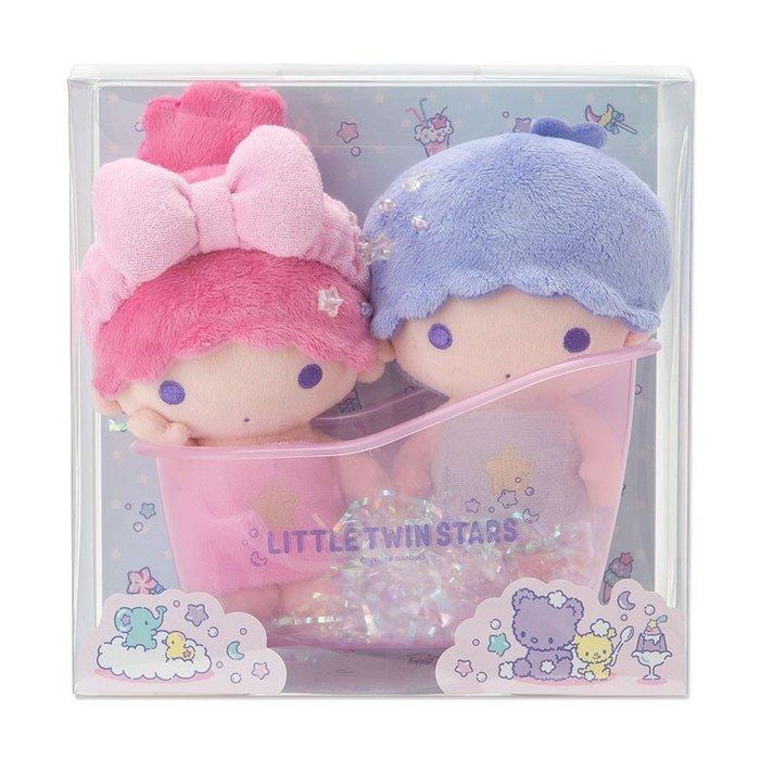 ^燕子部屋 ^正版 【雙子星】絨毛娃娃盒裝組-浴缸