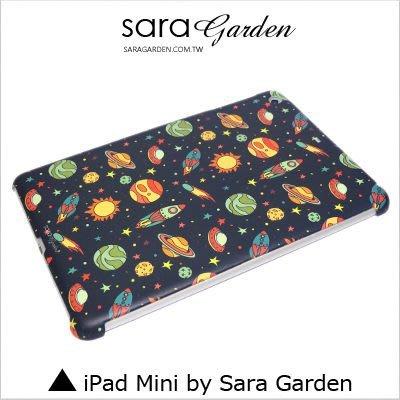 iPad Mini 1 2 3 4 客製化 保護殼 太空 星球 火箭【G341】