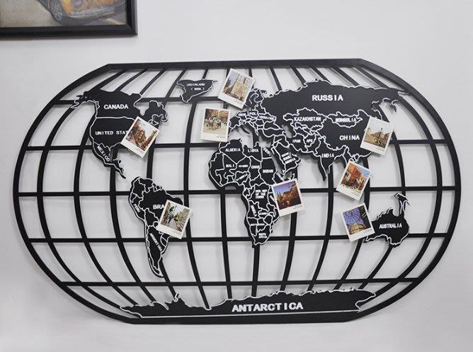 【工業復古】世界地圖(大) 手工藝 裝飾品 客廳 民宿 咖啡店 工作室 酒吧 餐廳 攝影道具 掛飾 民宿 IKEA
