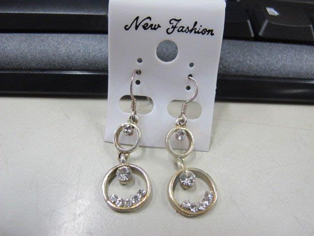 二手舖 NO.4500 時尚造型耳環 耳針 耳鉤 便宜賣 首飾飾品