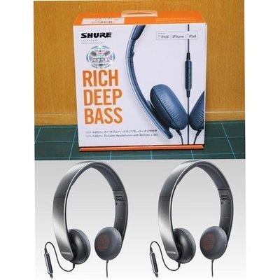 全新香港行貨 Shure SRH145M+-a  Headphone Earphone 耳筒耳機旺角交收 SRH 145 m+-a新蒲崗 旺角交收