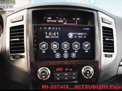 三菱 Mitsubishi Pajero 帕傑洛 Android 安卓版觸控螢幕主機導航/USB/藍芽/WIFI/倒車
