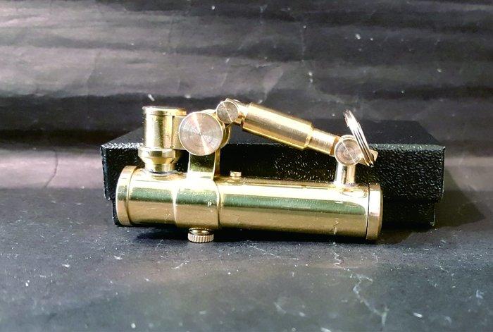 ONE*$1~*日本企鵝*PENGUIN*DUKE《公爵*煤油打火機》黃銅*鍍鉻加工