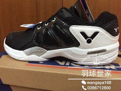 (羽球世家) 勝利 SH-A620 C 專業羽球鞋 VICTOR 黑白款 22-29.5mm