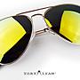 [ToryIvan] S15 電鍍金屬框 太陽眼鏡 水銀偏...