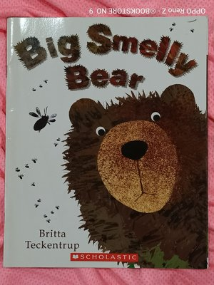 *NO.9 九號書店* Big Smelly Bear 英文繪本童書 SCHOLASTIC