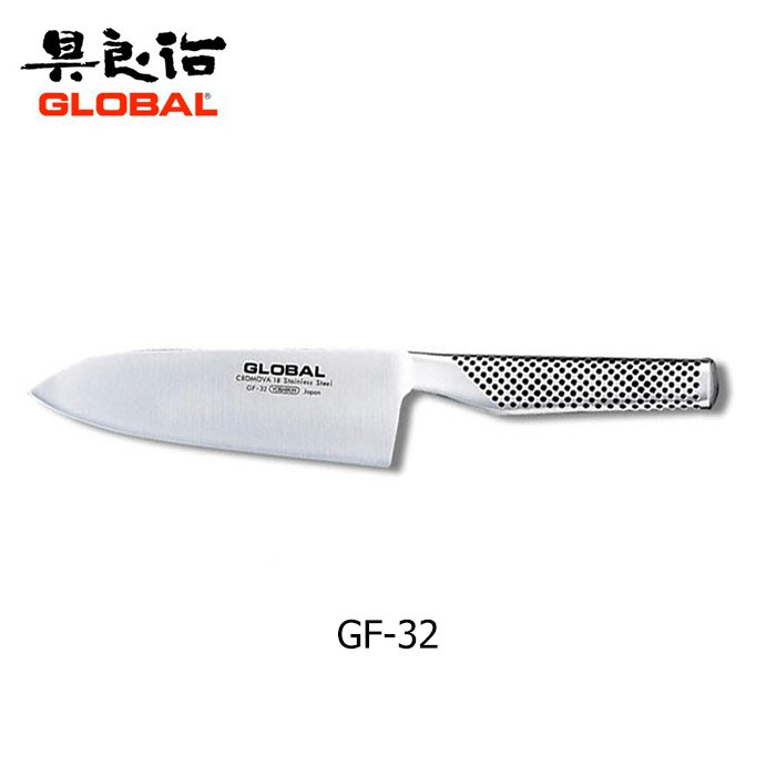 【angel 精品館 】日本具良治GLOBAL 專業 萬用廚刀 / 剁刀 16CM - GF-32