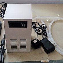 AC110~240V 整機型30L(120W)水族箱用水冷機(包含冷水機,變壓器,抽水馬達,矽膠管)