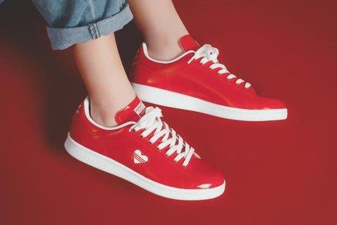 【Luxury】Adidas Originals STAN SMITH 白紅 愛心 情人節 G27893 G28136