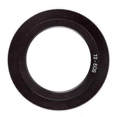 相機用品 T2-EOS M42*0.75-CANON EF 望遠鏡頭轉佳能機身 單反望遠鏡轉接環 台北市