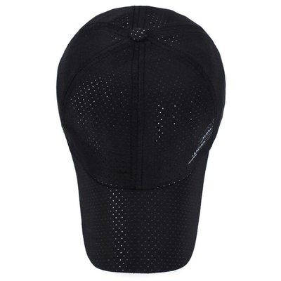 帽子男夏天女網眼遮陽帽休閒棒球帽夏季防曬太陽帽超薄透氣鴨舌帽