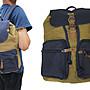 ~ 雪黛屋~ troop 後背包中大容量可A4資料夾帆...