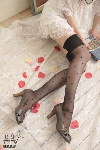 【拓拔月坊】日本知名品牌 M&M Frifla 小物件 愛心 大腿襪 日本製~現貨!