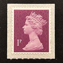英國郵票 2017 梅欽女王像補資郵票 1P 1全