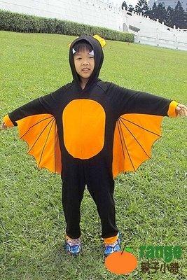 【orange親子小舖】吸血蝙蝠造形服裝/萬聖節服裝/聖誕節服裝/cosplay服裝100-130cm台灣製