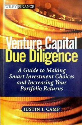 [ 二手書 三冊免運費 ] Venture Capital Due Diligence -- Justin J. Camp