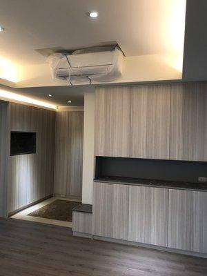 台中系統櫃--6尺客廳收納展示櫃 { 湯姆 收納展示櫃 } 現代風