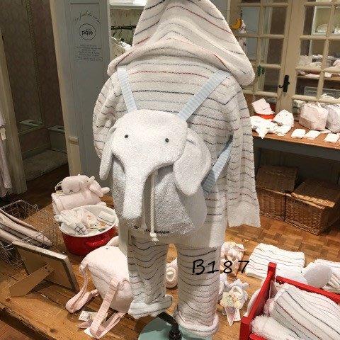 B187超可愛 羽毛紗大象後背包 兒童背包 寶寶背包  背包 幼兒背包$650Gelato pique
