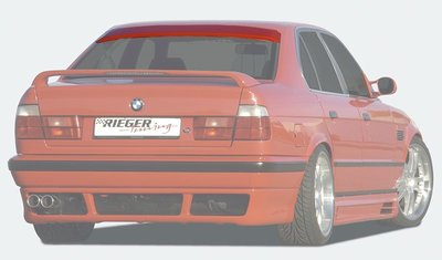 【樂駒】RIEGER BMW 5-series E34 rear window cover 後頂翼 尾翼 空力 外觀
