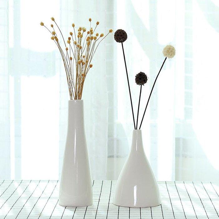 爆款簡約ins風北歐花瓶擺件玄關客廳小清新干花插花器陶瓷現代裝飾品#簡約#陶瓷#小清新