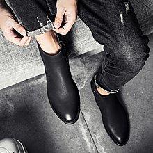 春季男靴子透氣正韓馬丁靴男短靴英倫高幫鞋潮流男士皮靴切爾西靴 【樂購大賣家】