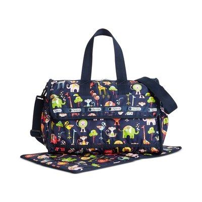 美國名牌LeSportsac 3249 Baby Bag專櫃新款媽媽包附尿布墊旅行包托特包現貨在美特價$3980含郵