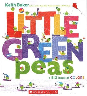 *小貝比的家*LITTLE GREEN PEA/平裝/3~6歲/ 顏色