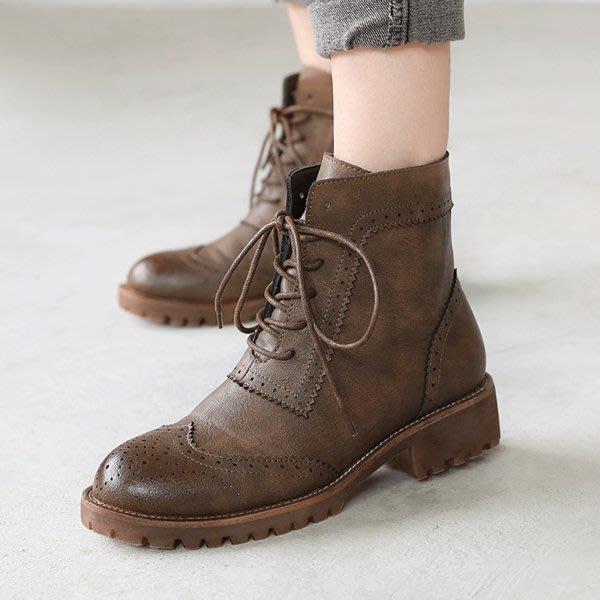 =WHITY=韓國GRAMMI品牌 韓國製  學院時尚格百搭舒適小厚底鞋 好看經典S4CBB59