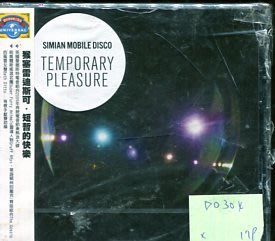 *愛樂二館* SIMIAN MOBILE DISCO / TEMPORARY PLEASURE 全新 D0304 (殼破