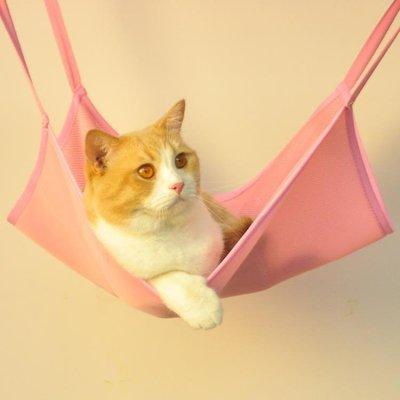 貓吊床 貓吊床掛鉤秋千寵物貓咪掛窩籠子用懸掛式夏窩貓吊籃貓籠掛床