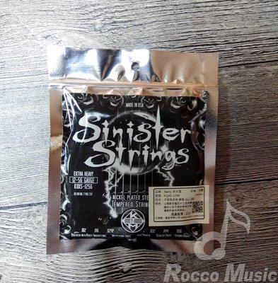 【羅可音樂工作室】Kerly美製冰火弦 電吉他 Sinister系列 (12-56)