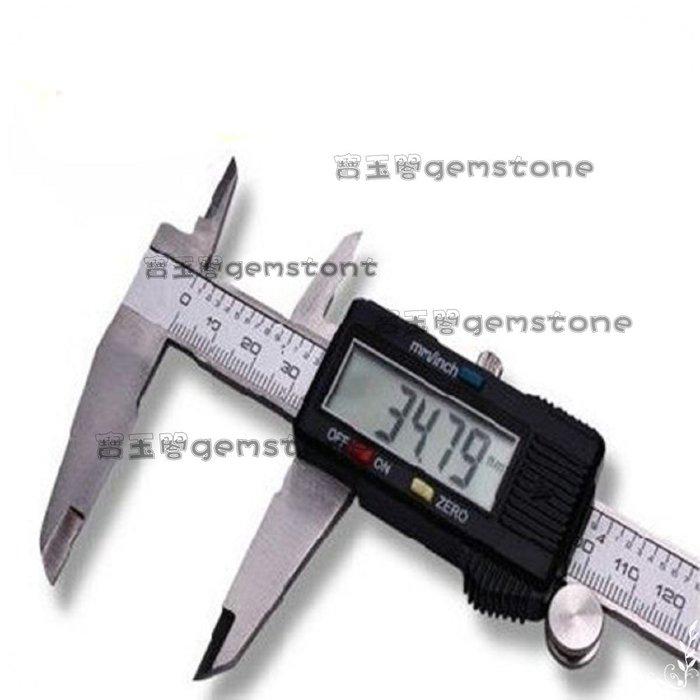 玉見真實 珠寶鑑定儀器 數字游標卡尺 數位卡尺 電子卡尺0~150mm/m*0.02 公制/英制互換MCOTES017