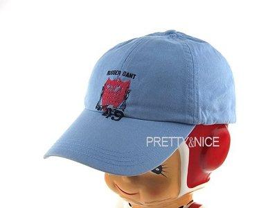 貞新 GANT 美國品牌 天空藍棉質高爾夫球帽/遮陽帽/潮帽 F號(69089)