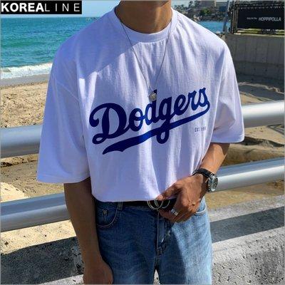 搖滾星球韓國代購 DODOGERS洛杉磯道奇印刷短T LPE2342