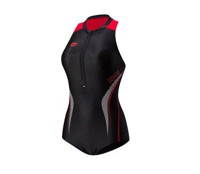 ~BB泳裝~ 2019 arena Logo TOUGHSUIT-FLEX 競賽款立領連身三角泳衣 TSS9133W