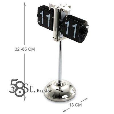【58街-高雄館】創意設計師款式「伸縮翻頁鐘,桌鐘」外銷品。AB-031